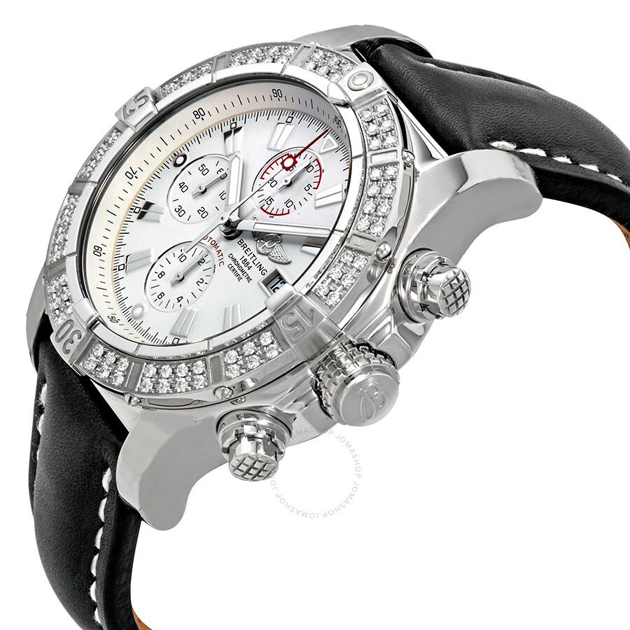 Breitling Super Avenger White Dial Diamond Bezel Automatic ...