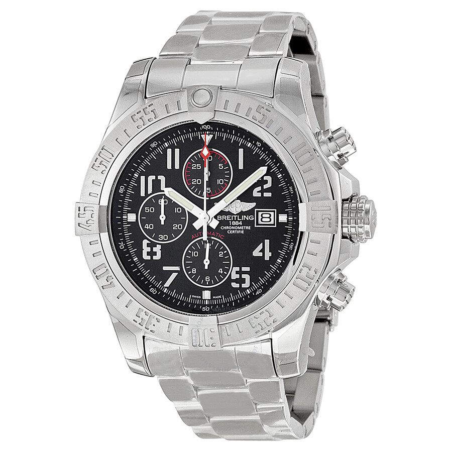 e378e1e8b25 Breitling Super Avenger II Automatic Chronograph Men s Watch ...