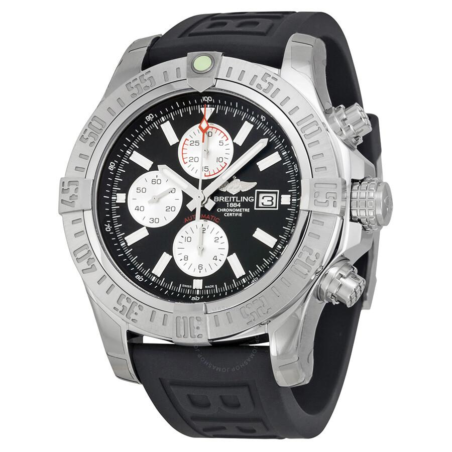 Breitling Super Avenger Ii Chronograph Automatic Black
