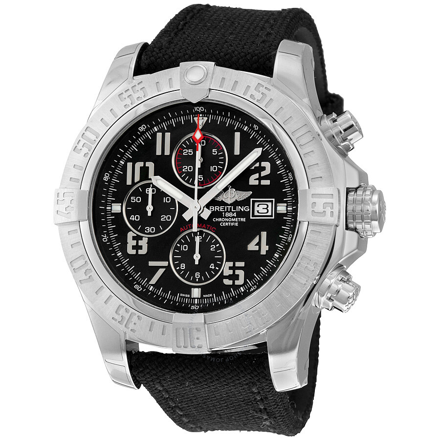 Breitling super avenger ii men 39 s watch a1337111 bc28bkft super avenger avenger breitling for Avengers watches