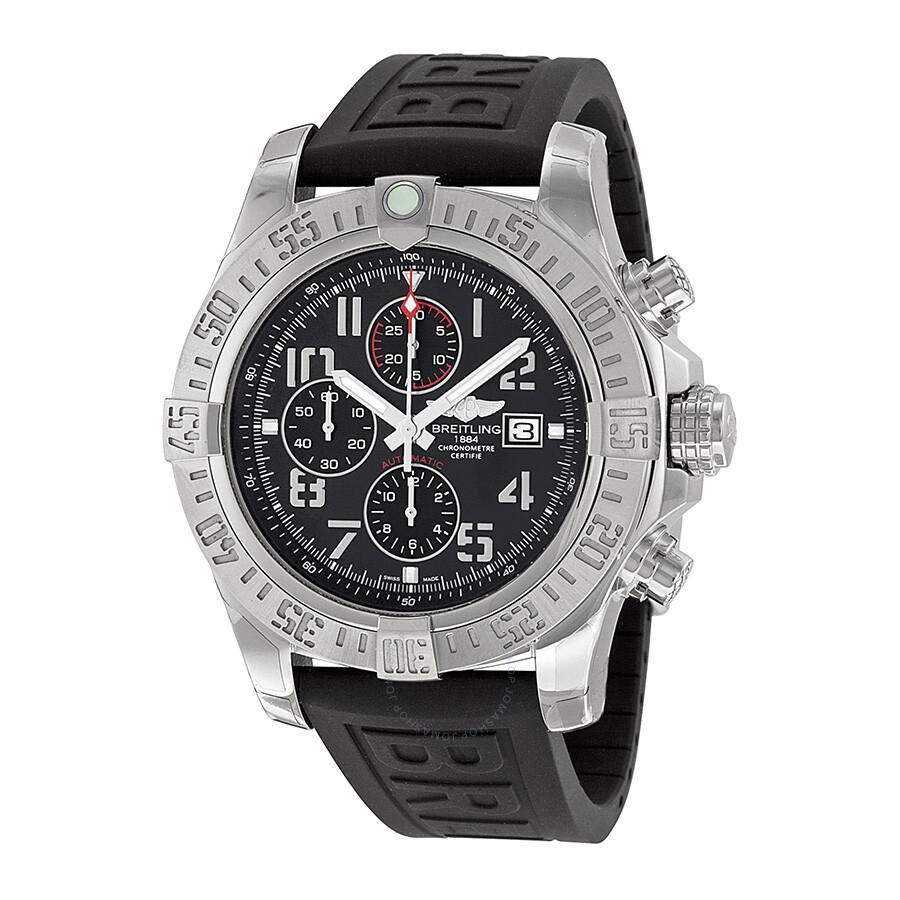Breitling super avenger ii men 39 s watch a1337111 bc28bkpd3 super avenger avenger breitling for Avenger watches