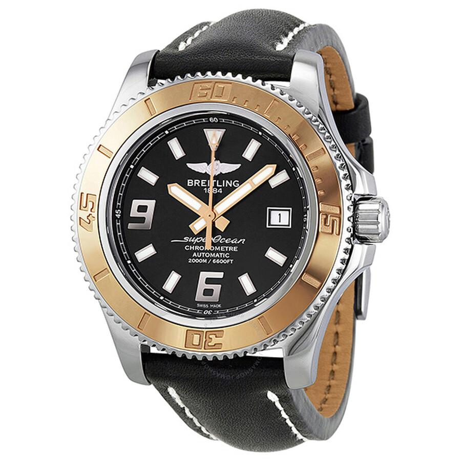 835b5840f34 Breitling Superocean 44 Automatic Black Dial Men s Watch C1739112-BA77BKLT  Item No. C1334112-BA84-435X-A20BA.1