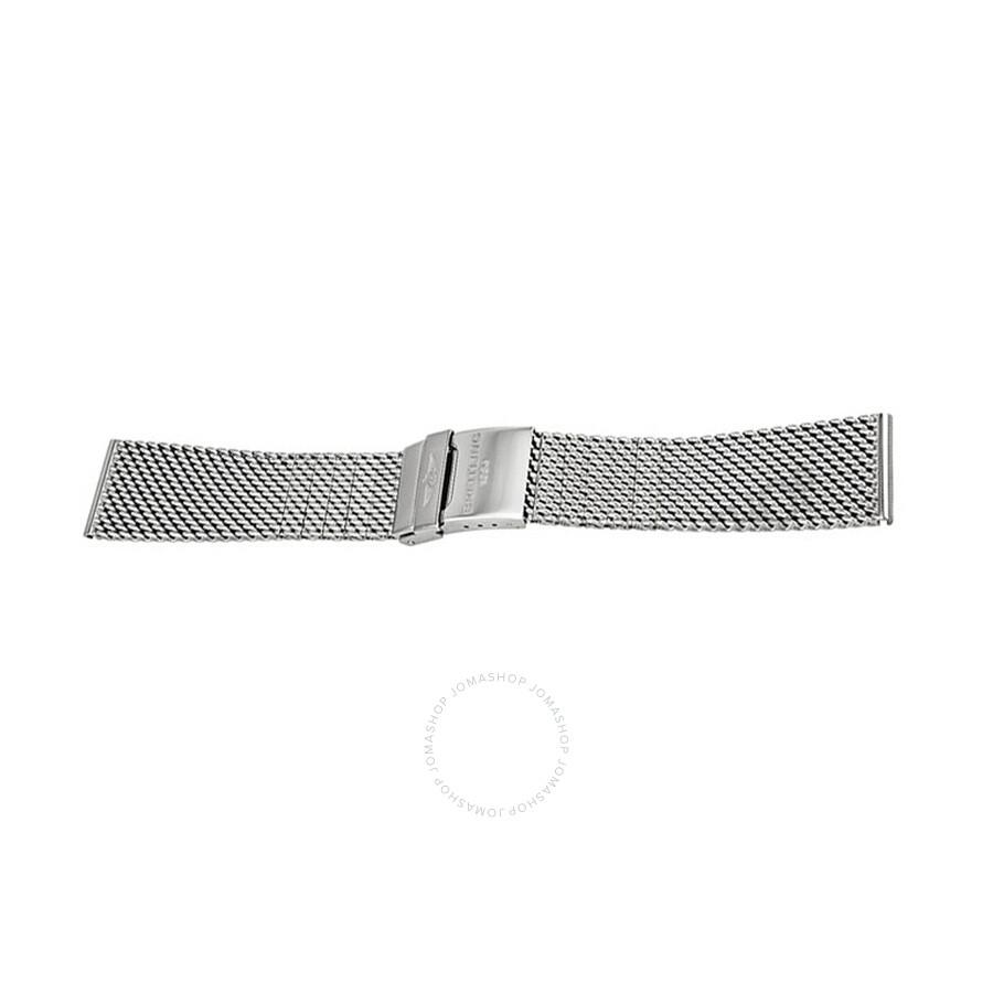 Watch Bands Breitling Superocean Heritage 46 Mesh Bracelet