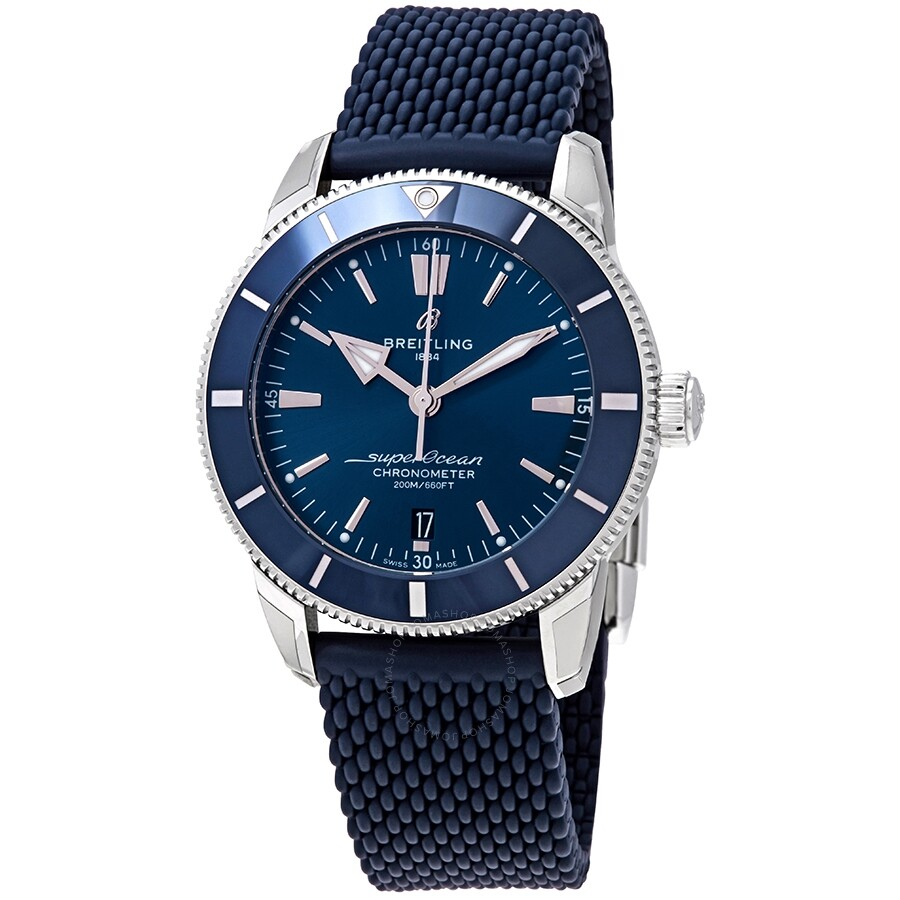 Breitling Superocean Heritage II Automatic Chronometer Blue Dial Men's  Watch AB2030161C1S1