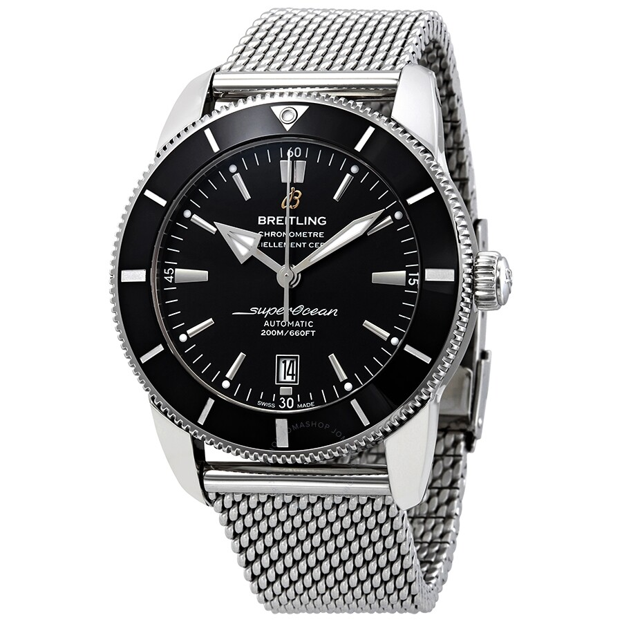 Breitling Watches For Sale >> Breitling Superocean Heritage Ii Automatic Black Dial Men S Watch