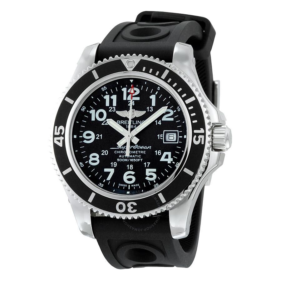 Breitling superocean ii 42 automatic men 39 s watch a17365c9 bd67bkort superocean ii 42 for Watches breitling