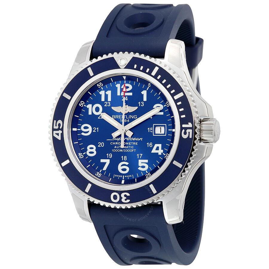 Breitling Superocean II 44 Automatic Blue Dial Men's Watch ...