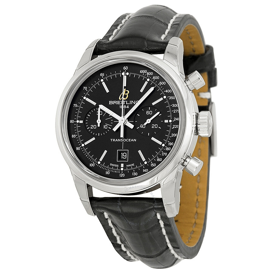 Breitling transcocean chronograph automatic men 39 s watch a4131012 bc06bkct transocean for Breitling automatic
