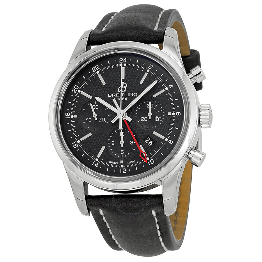 Breitling transocean chronograph gmt automatic men 39 s watch ab045112 bc67bklt transocean for Breitling automatic