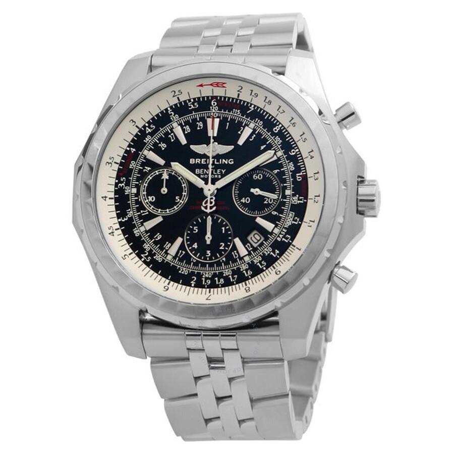 Breitling Bentley Motors Chronograph Steel Men S Watch A2536212 G552ss