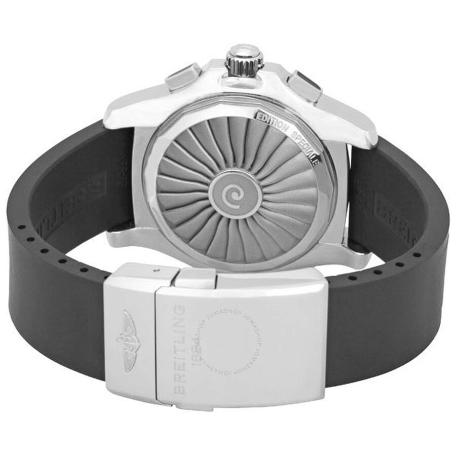Breitling Airwolf Raven Stainless Steel Watch A7836434 ...