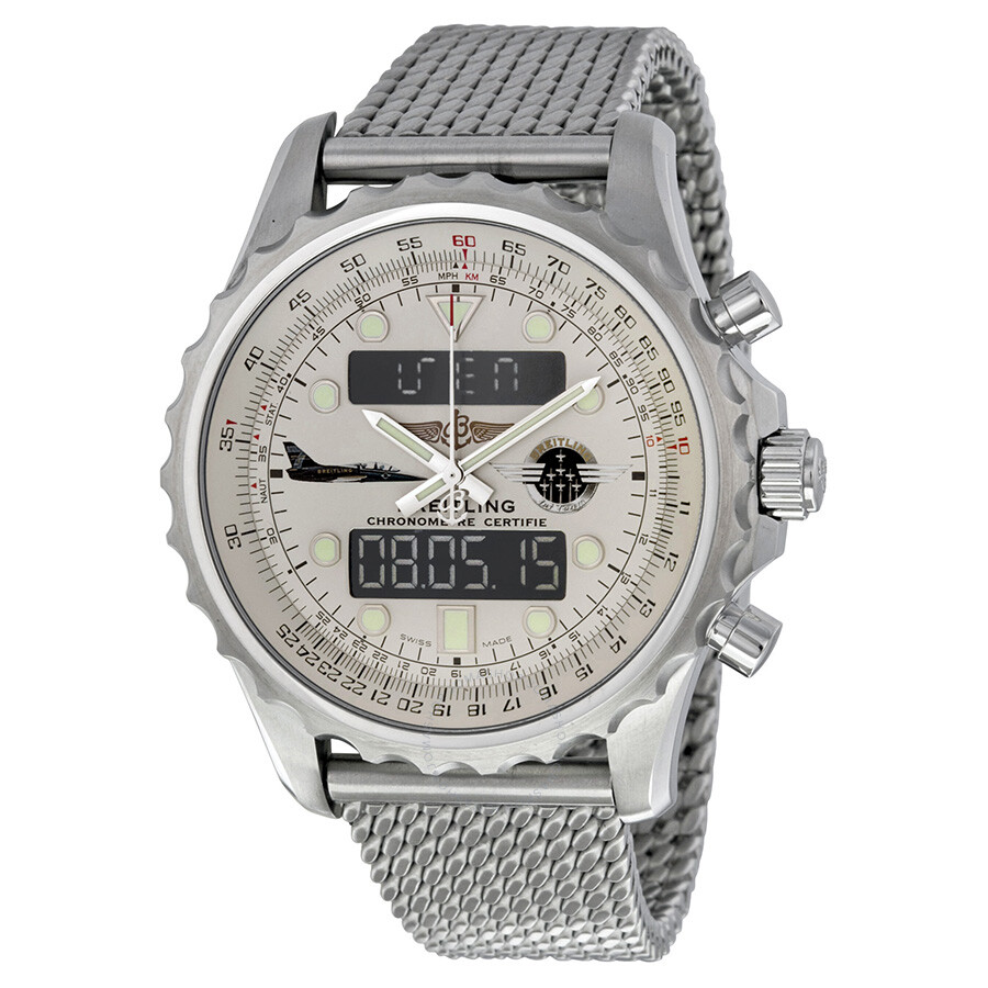 breitling chronospace jet team limited edition analog