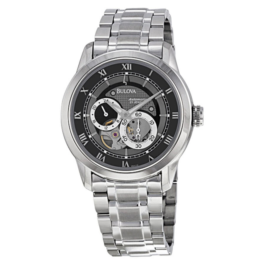 Bulova BVA Series Aperture Dial Men's Watch 96A119 - BVA - Bulova