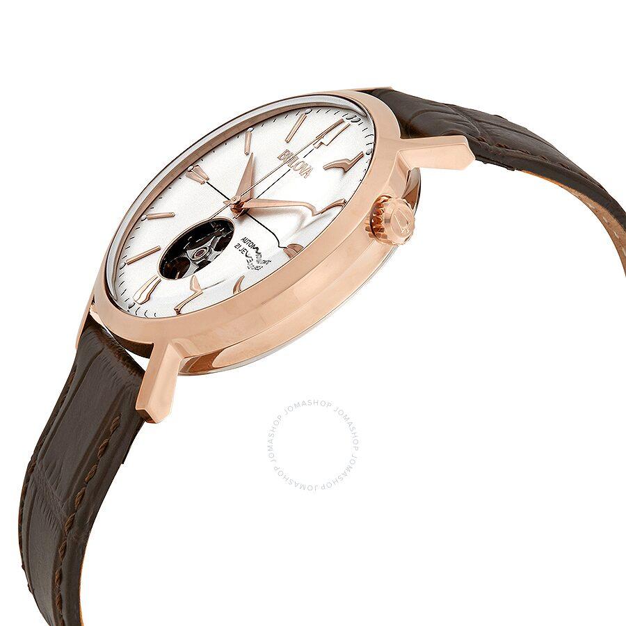 05384abe9 ... Bulova Classic Silver-White Dial Automatic Men's Watch 97A136 ...
