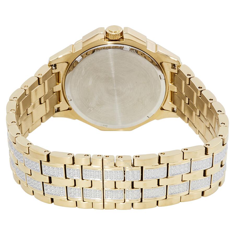 87e54e307c34 Bulova Crystal Silver Dial Men s Watch 98C126 - Crystal - Bulova ...