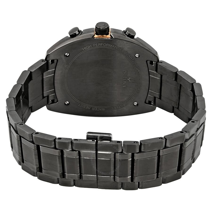 ea508913a Bulova Curv Chronograph Dark Grey Dial Men's Watch 98A158 - Curv ...