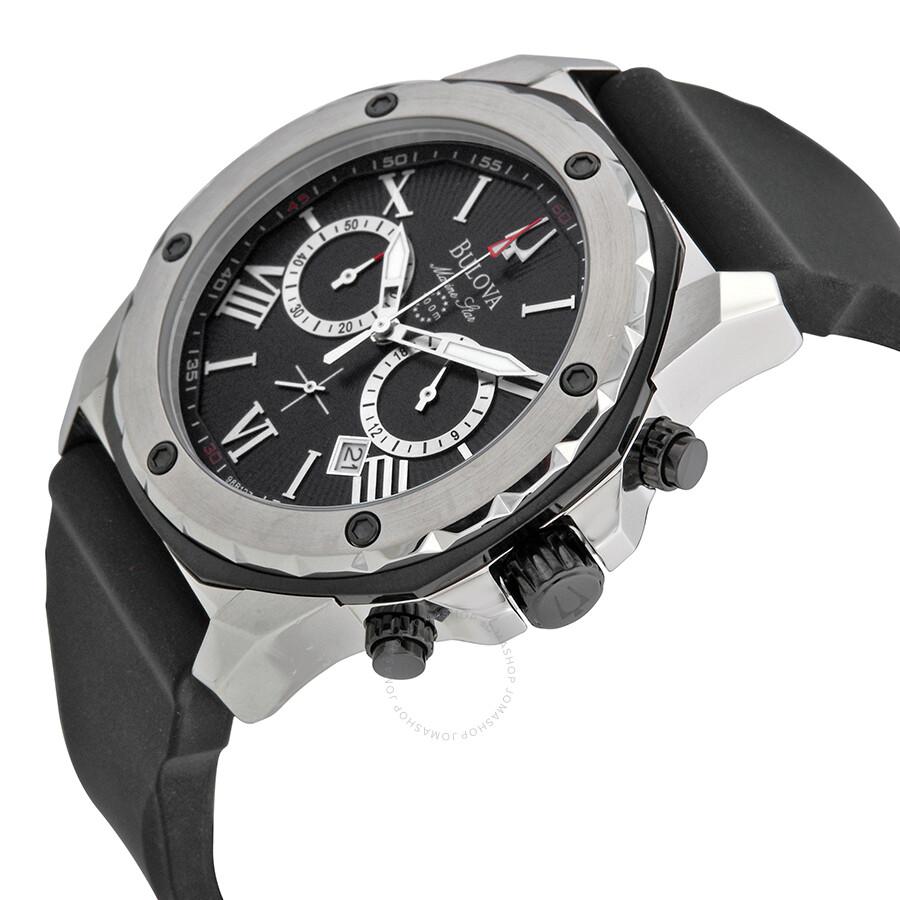 4c3eec9d0 Bulova Marine Star Chronograph Men's Watch 98B127 Bulova Marine Star  Chronograph Men's Watch 98B127 ...