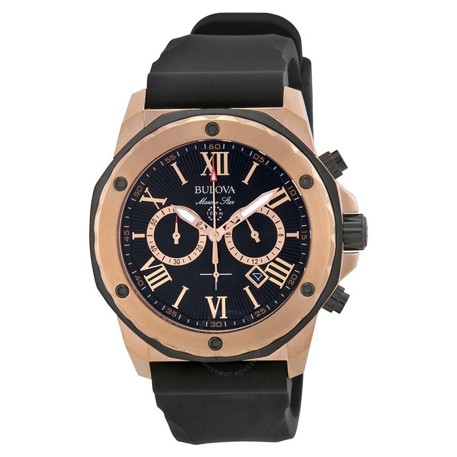 edb1526d0b7 Bulova Marine Star Men s Watch 98B104 - Marine Star - Bulova ...