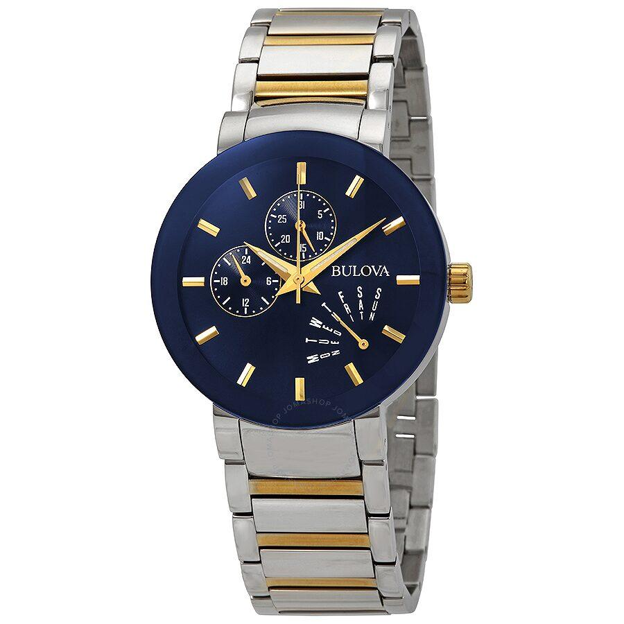 b080586b5 Bulova Modern Blue Dial Men's Watch 98C123 - Bulova - Watches - Jomashop