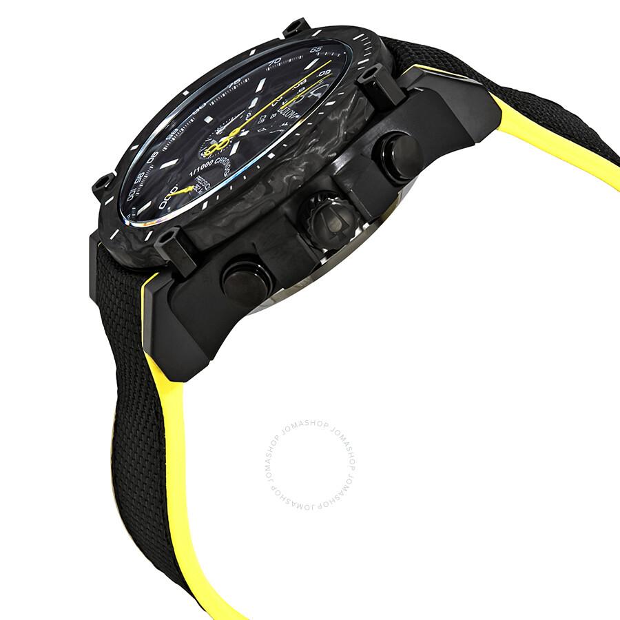 c599be6b7 ... Bulova Precisionist Chronograph Black Dial Men's Watch 98B312 ...