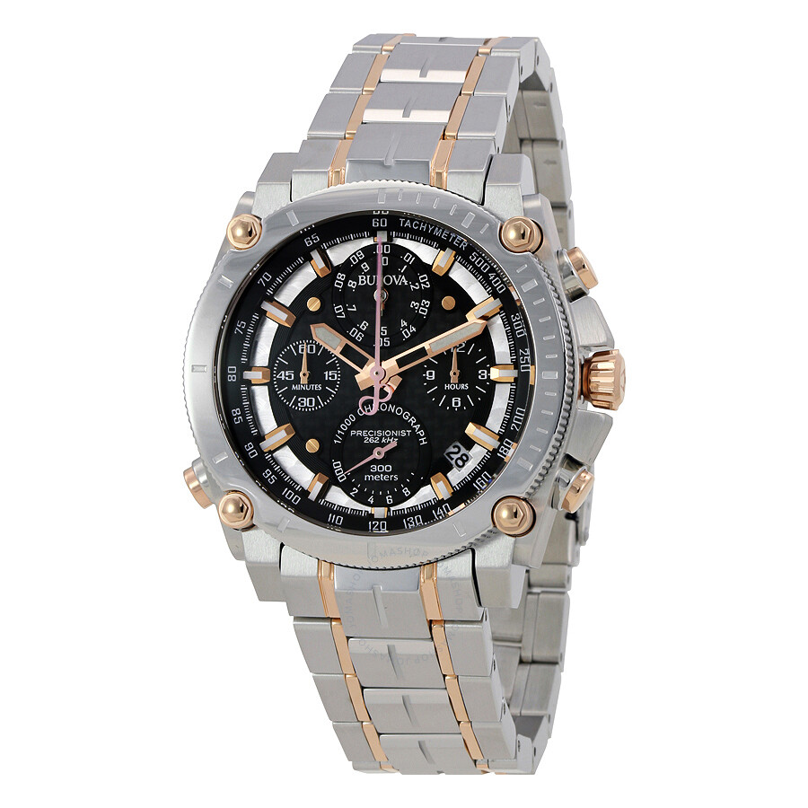 Bulova precisionist chronograph men 39 s watch 98g256 precisionist bulova watches jomashop for Watches bulova