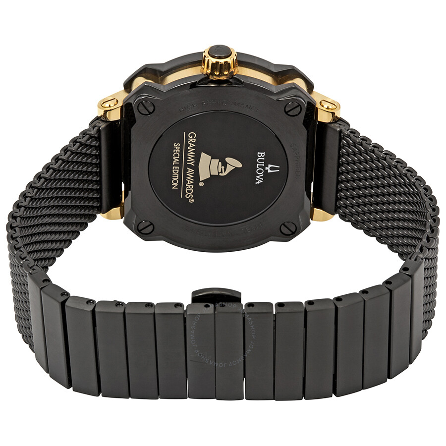 3be420b93 ... Bulova Precisionist Grammy Edition Black Dial Men's Watch 98B303