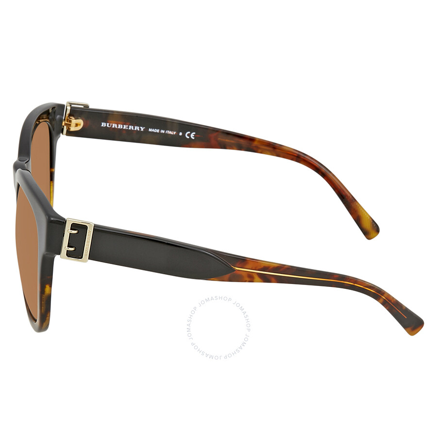 53e2b4f9325 Burberry Brown Gradient Asian Fit Sunglasses BE4258F 367913 56 ...