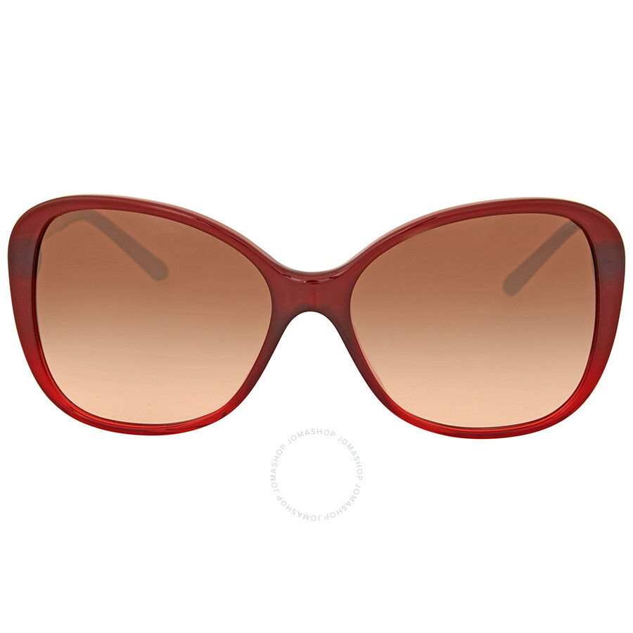 7174fbe82d60 Burberry Brown Gradient Butterfly Sunglasses Item No. BE4235QF 362513-57