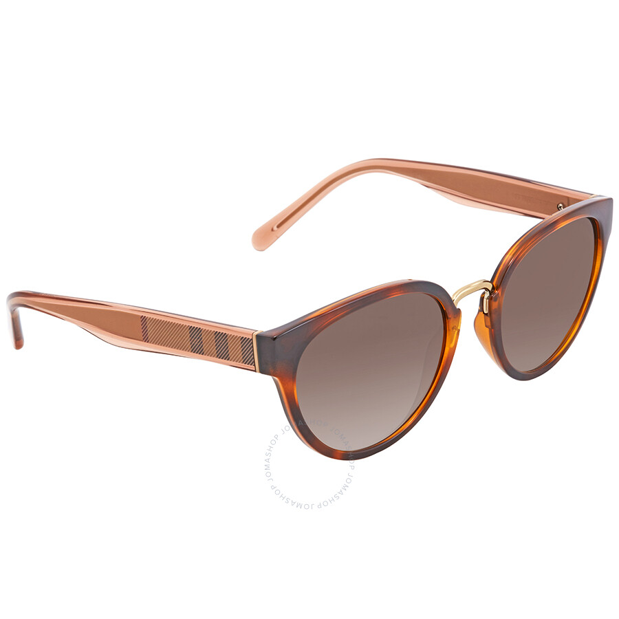 f84ade1aa9df Burberry Brown Gradient Cat Eye Ladies Sunglasses BE4249-331613-53 ...
