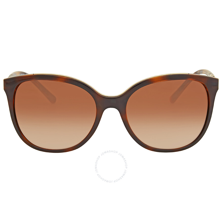 6b68281881a6 Burberry Brown Gradient Cat Eye Sunglasses - Burberry - Sunglasses ...