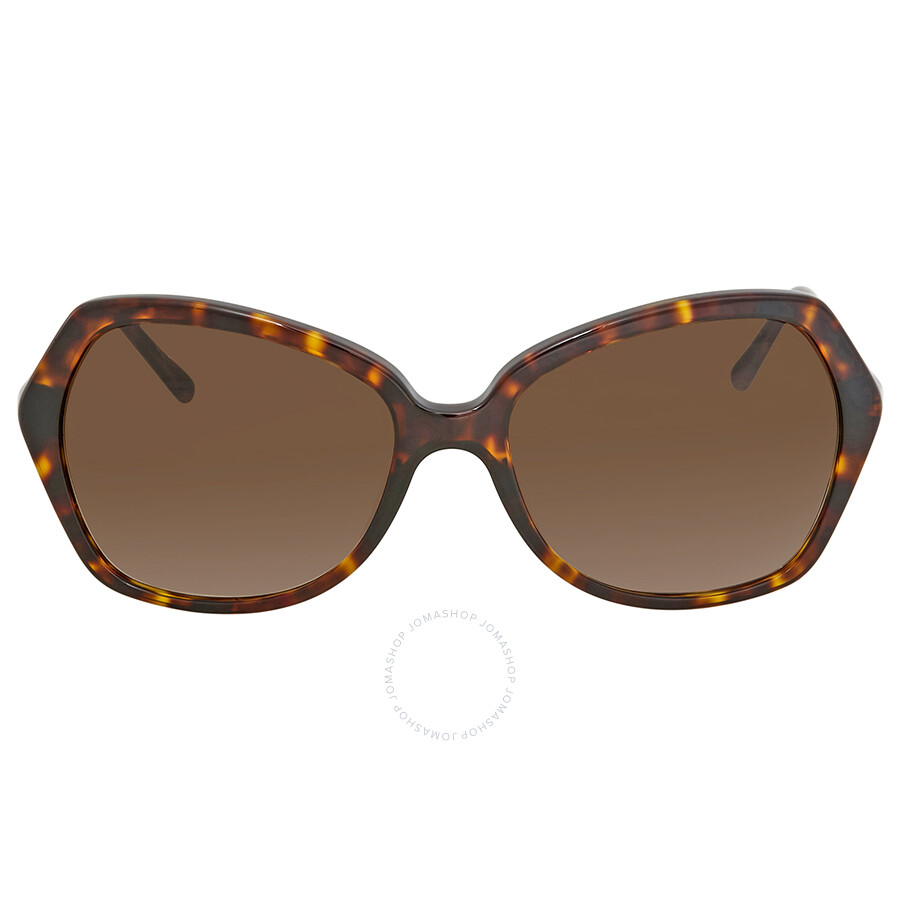 3b317f9f00a ... Burberry Brown Gradient Ladies Butterfly Sunglasses BE4193-300213-57 ...