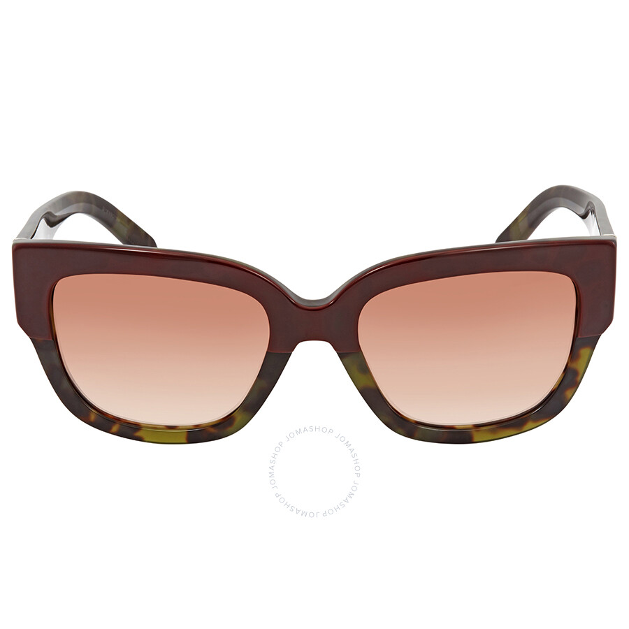bf83993630a ... Burberry Brown Gradient Square Ladies Sunglasses BE4252-365113-53 ...