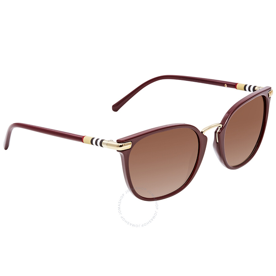 7254908866 Burberry Brown Gradient Square Sunglasses BE4262-340313-53 ...