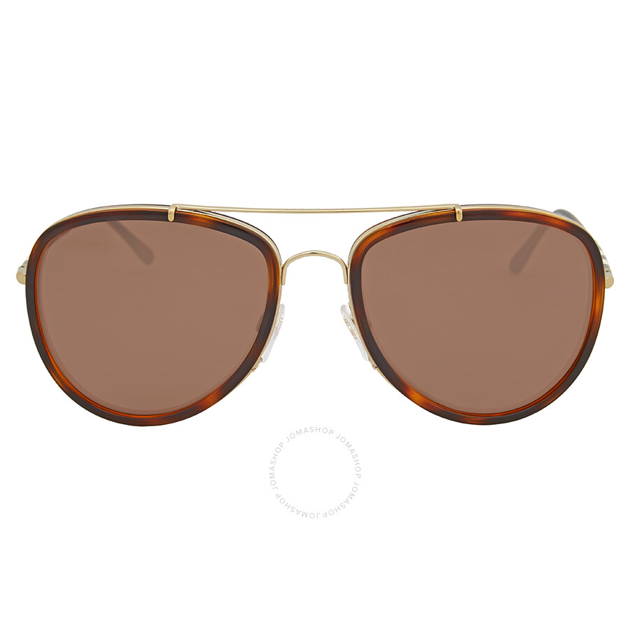c28a14d1115 Burberry Brown Mirror Aviator Sunglasses - Burberry - Sunglasses ...