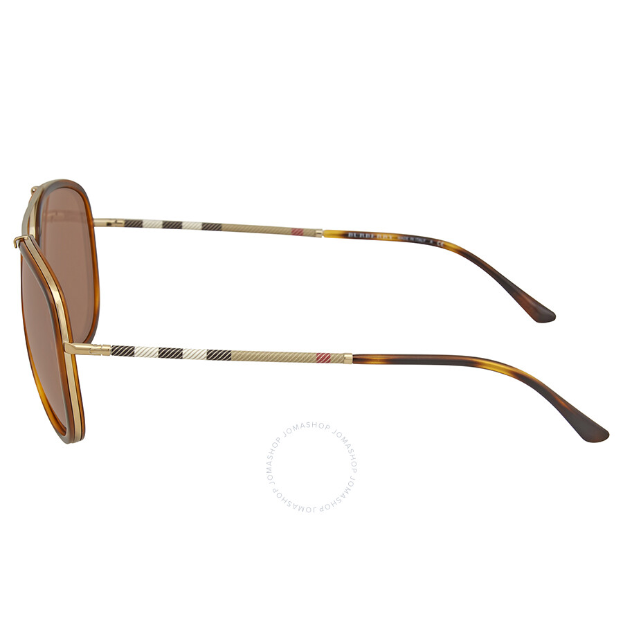 0fb7ce5994c Burberry Brown Mirror Aviator Sunglasses Burberry Brown Mirror Aviator  Sunglasses ...
