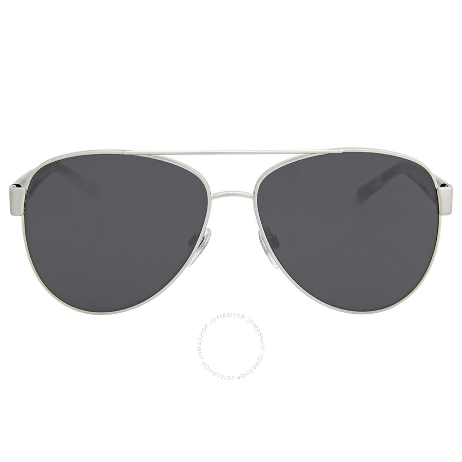 d5ff8663dbab Burberry Brushed Silver Metal Aviator Sunglasses - Burberry ...
