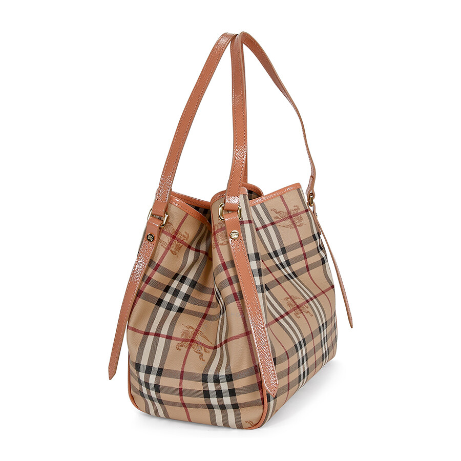 45ac2a3bc30 Burberry Canterbury Haymarket Check Small Tote 3962725 - Burberry ...