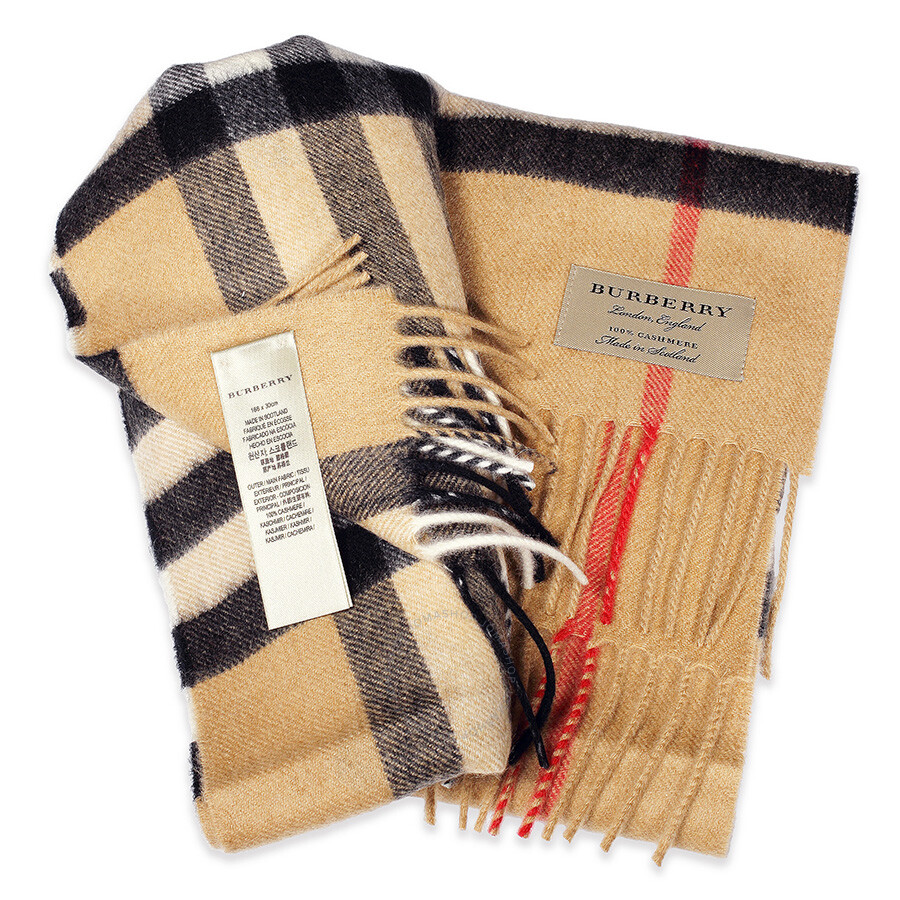 cashmere burberry scarf how to know its real