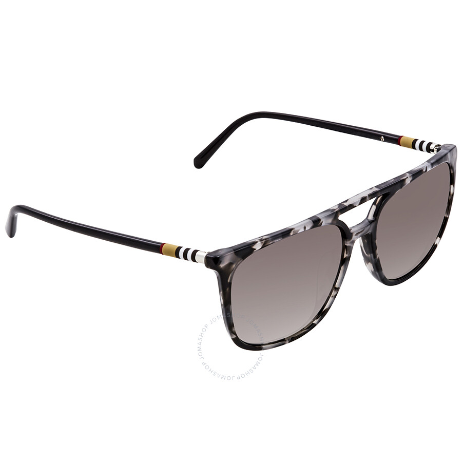 3b847fc7fdc21 Burberry Gradient Grey Mirror Silver Asian Fit Sunglasses BE4257F-35336I-59  ...