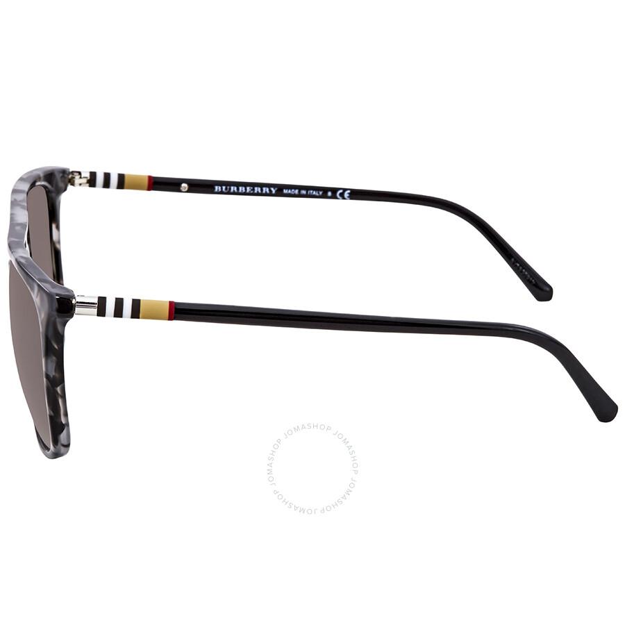 728ea7a2b3f ... Burberry Gradient Grey Mirror Silver Asian Fit Sunglasses  BE4257F-35336I-59