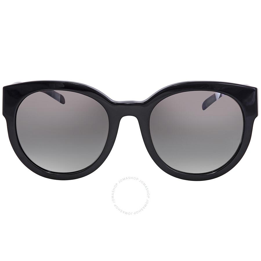 bb86c59338 ... Burberry Gradient Grey Mirror Silver Round Sunglasses BE4260-36836I-54  ...