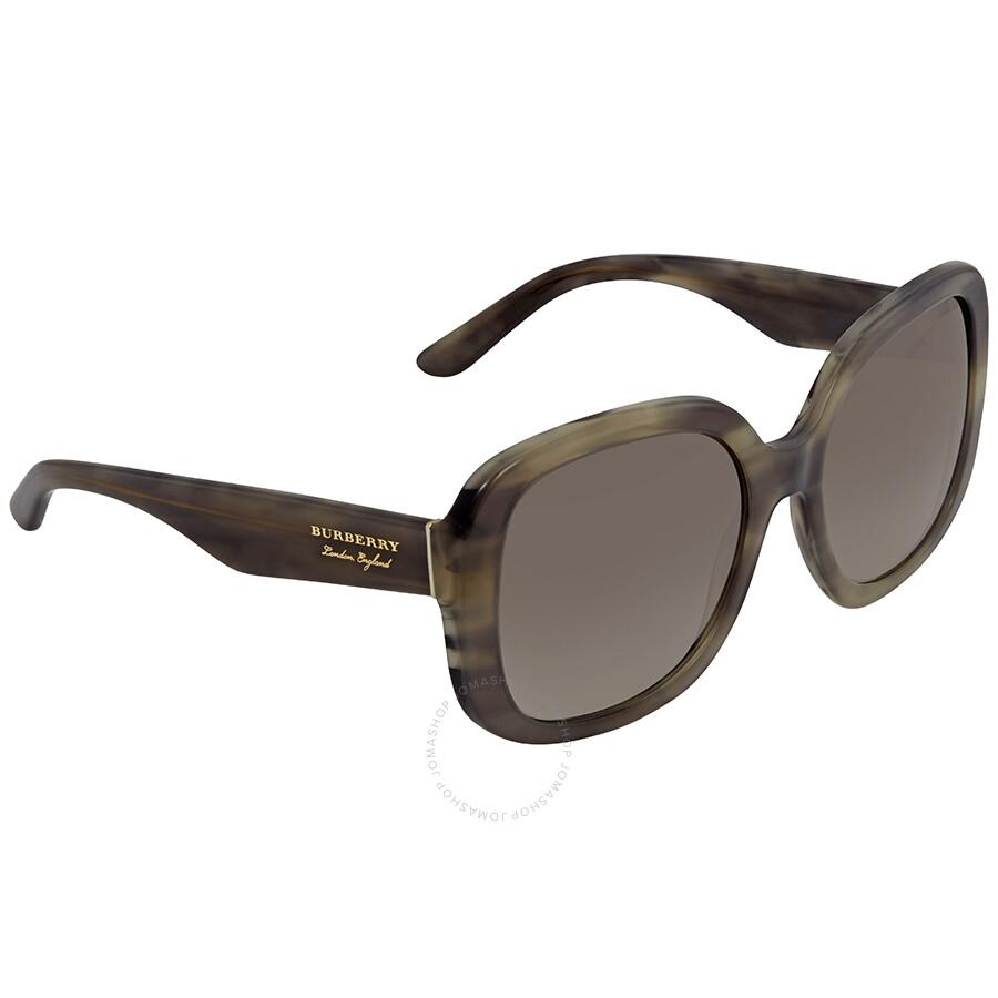 7084e96d1b11 Burberry Gradient Grey Mirror Silver Square Sunglasses BE4259-36586I-56 ...