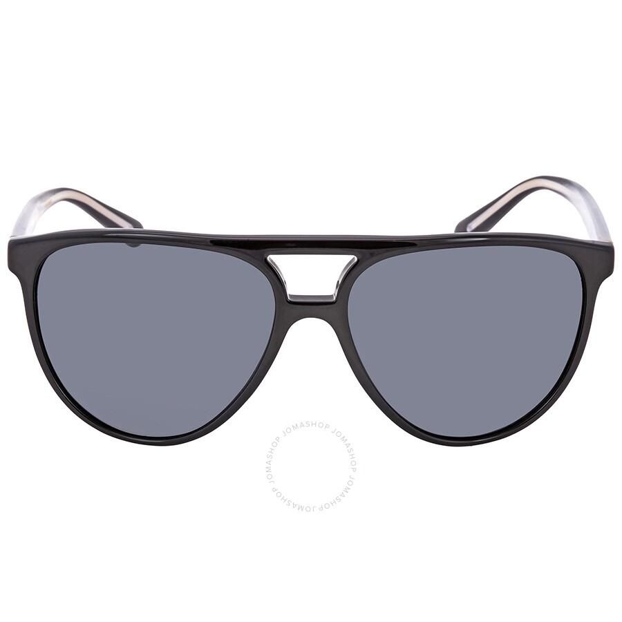 2c51efa27df6 Burberry Grey Aviator Men's Sunglasses BE4254-300187-58 - Burberry ...