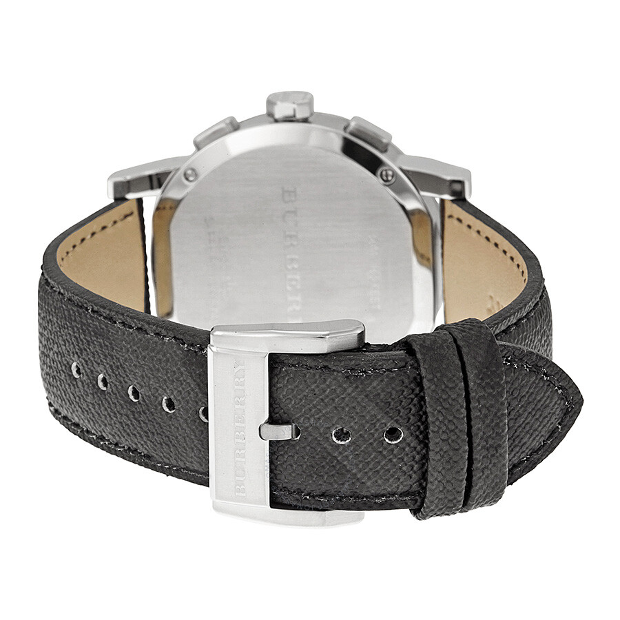 burberry grey dial black leather men s watch bu9362 burberry burberry grey dial black leather men s watch bu9362