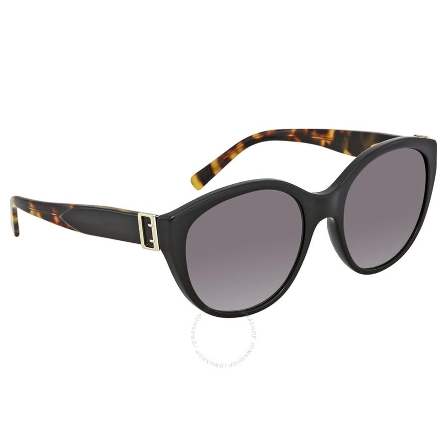 5e77b6092b70 Burberry Grey Gradient Cat Eye Sunglasses - Burberry - Sunglasses ...