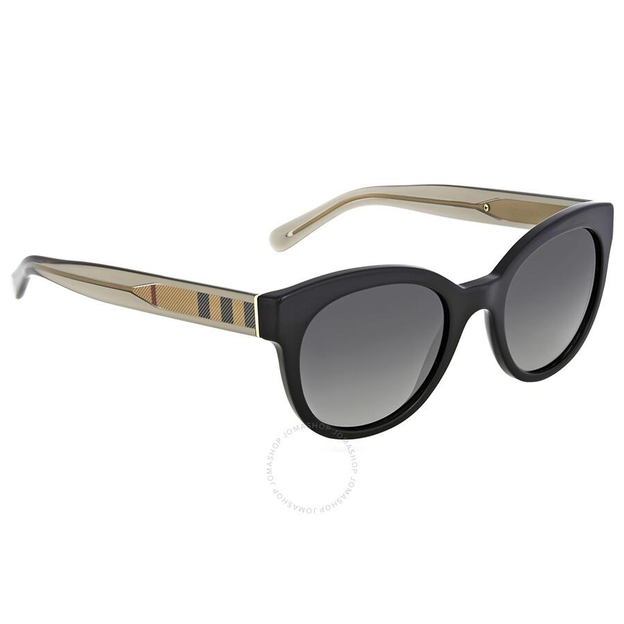98ab06b8e644 ... 4117 3001/T3 58-14 Black w/ Grey Fade Burberry Grey Gradient Polarized  Sunglasses - Burberry - Sunglasses - Jomashop