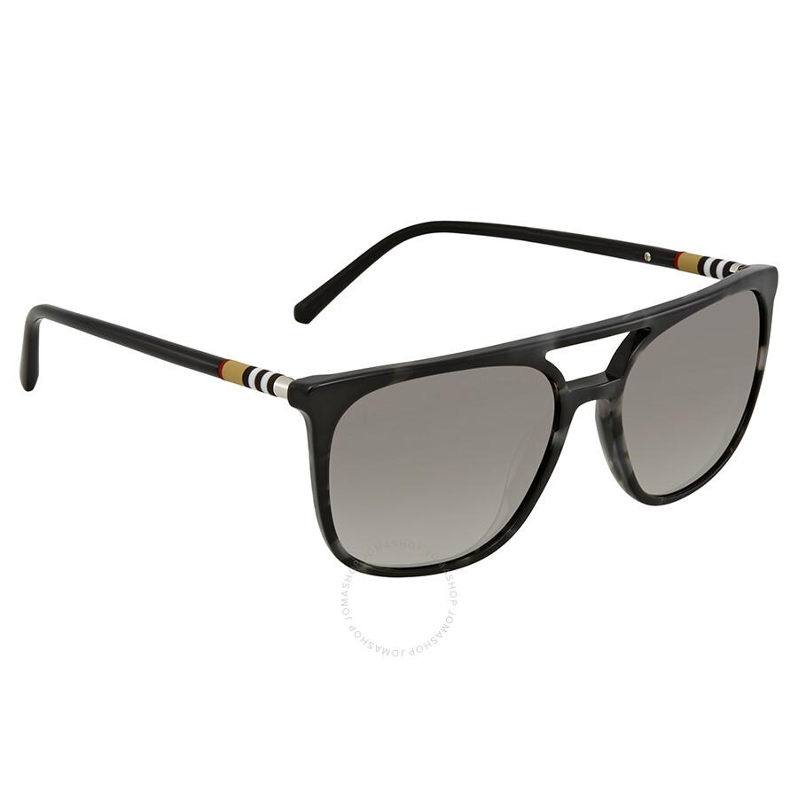 ea7aeee3cf Burberry Grey Havana Square Sunglasses BE4257 35336I 57 - Burberry ...