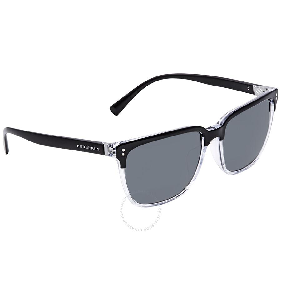 21f2e5d00b1 Burberry Grey Square Men s Asian Fti Sunglasses BE4255F-30295V-58 ...