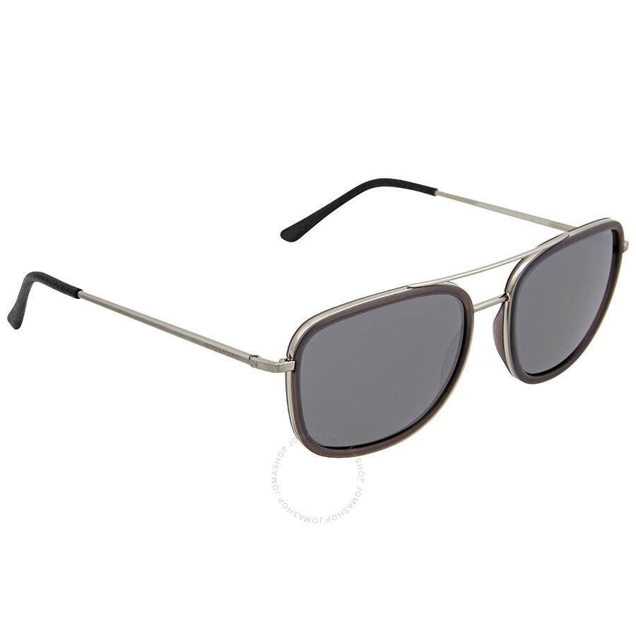 a1e9d50e3dca Burberry Gunmetal Grey Aviator Sunglasses - Burberry - Sunglasses ...