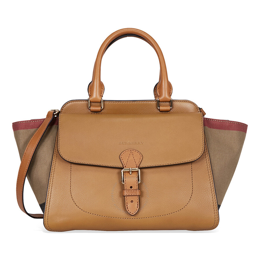 a3b3a585ae5a Burberry Harcourt Medium Tote Bag - Saddle Brown - Burberry Handbags ...